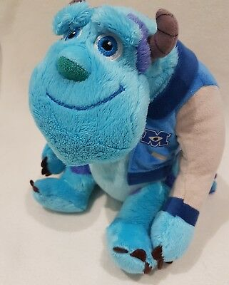"""Official New Sulley Monsters Inc University Sully Soft Toy Plush 9"""""""