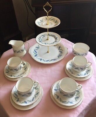 Lovely Vintage Royal Standard Fine Bone China Tea Set And Cake Stand New Price