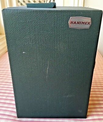 Terrific Vintage HANIMEX PHOTO SLIDE BOX CASE Holds 420 Photo SLIDES #2