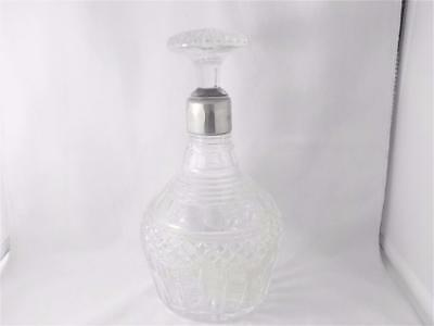 Original with stature Collared crystal glass Georgian Decanter 1795/1830