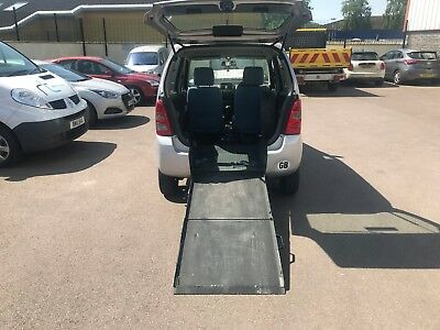 Suzuki Wagon R Automatic WHEELCHAIR ACCESSIBLE mobility disabled access ramp wav