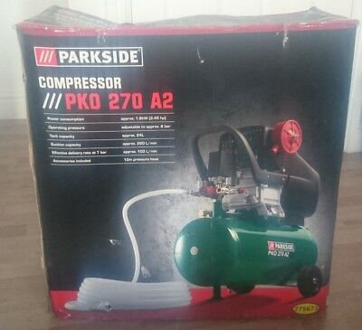 PARKSIDE 24L Air Compressor PKO 270 A2