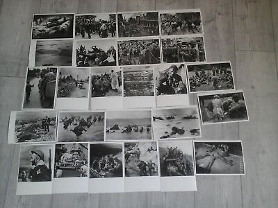 Lot 25 Photos Grand Format Seconde Guerre Mondiale /overlord, Liberation, Italie