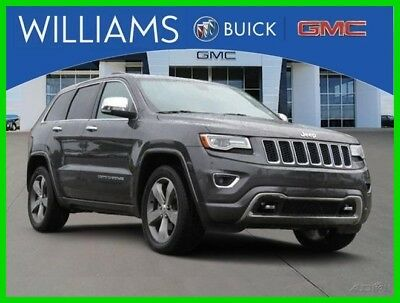 Jeep Grand Cherokee Overland 2014 Overland Used 3.6L V6 24V Automatic 4WD SUV Moonroof