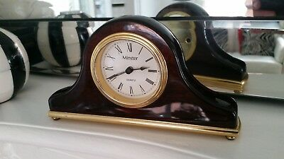 Minster Quarts Mantle Clock