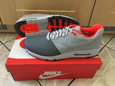 100% ORIGINAL NIKE Air Max 1 Ultra 2.0 SE Gr. 43 Grau NEU