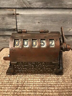 Antique 1897 American Counting Machine,Lever