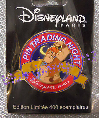 DLP Pin Trading Night HERCULES Disney land Paris PTN event day LE 400