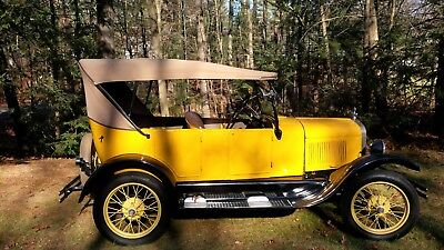 1927 Ford Model T Touring 1927 model T touring
