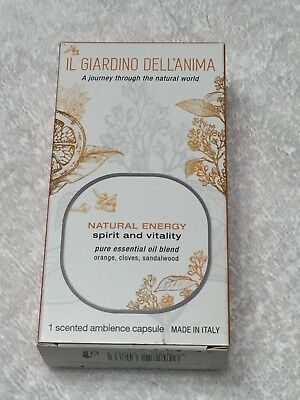 """mr mrs italy Duftkapsel NATURAL ENERGY """"spirit and vitality"""" für George"""