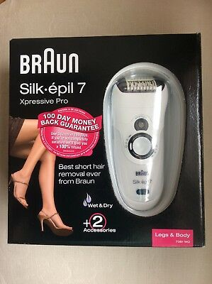 Braun silk Epil 7 Xpressive Pro Wet And Dry Epilator