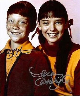 Lost in Space Billy Mumy and Angela Cartwright Signed 8x10 From Hollywoodshow