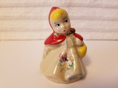Antique Hull Little Red Riding Hood Pie Bird Excellent Condition