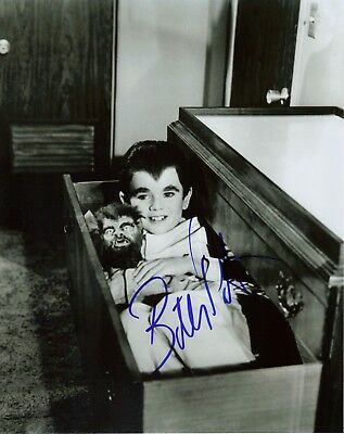 "Butch Patrick The Munsters Signed 8x10 From Hollywoodshow  ""Eddie Munster"""