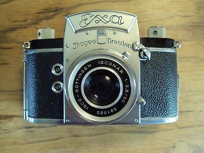 Vintage EXA camera by Thagee of Germany