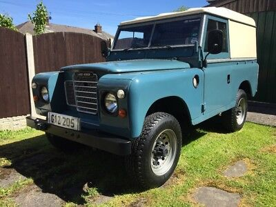 beautiful Classic diesel  Land Rover series 3 superb condition overdrive fwh