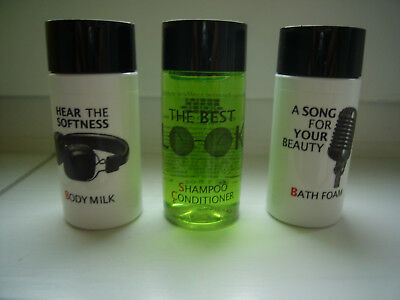 BEATLES Hotel Liverpool Hard Days Night Shower Gel Shampoo original Reise