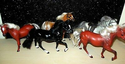 Lot of 5 MARCHON 1988 Grand Champion Horses Great Condition