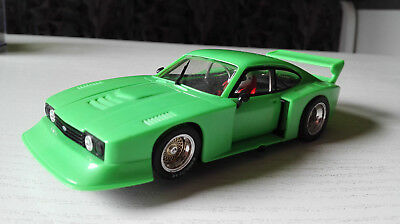 Slotcar 1:32 Fly Ford Capri RS Turbo Racing green