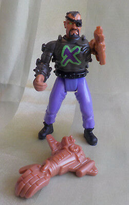 Action Man 2001 Dr. X  v. Hasbro f. MCDonalds Action Figur unbespielt Retro