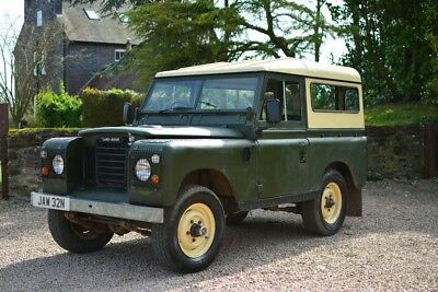1975 Series 3 excellent condition NEW MOT TAX and MOT exempt Ideal 1st Landrover