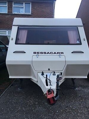Bessacarr cameo 420sle 2 birth caravan