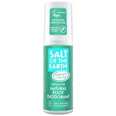 Salt of the Earth Natural Foot Deodorant Spray Cooling Menthol 100ml