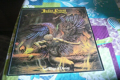 Judas Priest ‎– Sad Wings Of Destiny - LP Gull ‎– SLP 79, Gull ‎– RC 250