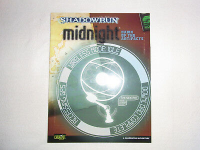 Shadowrun Midnight Dawn of the Artifact 4th Edition, englisch