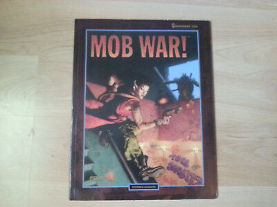 Shadowrun 2. Edition Mob War softcover, englisch