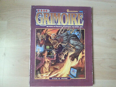 Shadowrun 2. Edition The Grimoire, softcover, englisch