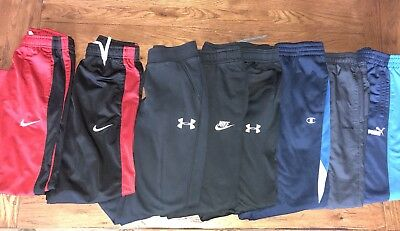 Under Armour, Nike pants lot of 8 for sports/play