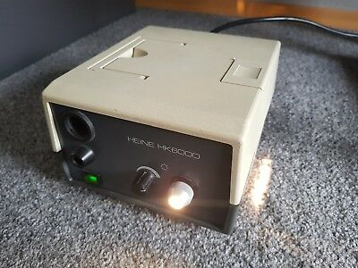 Cold Light Source / Kaltlichtquelle 150W HEINE HK6000 Endoscopy