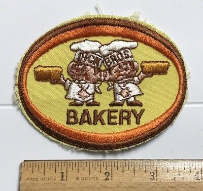 Dick Bros. Brothers Bakery Logo Embroidered Souvenir Patch