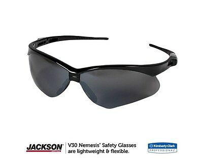 c8a6e1f8423d JACKSON NEMESIS V30 POLARIZED 3023625 Gun Metal Safety Glasses Smoke ...