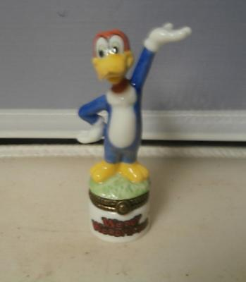 Phb Woody Woodpecker Porcelain Trinket Box