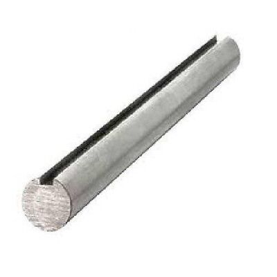 "Keyed Shaft 1-1/2"" X 12"" OAL, CS 1045 material, 3/8"" X 3/16"" Keyway"