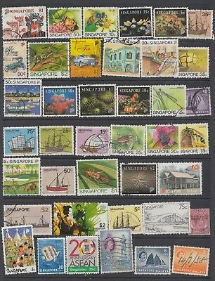 Useful SINGAPORE from a old collection.Starting at Just 59p (REF 20518)
