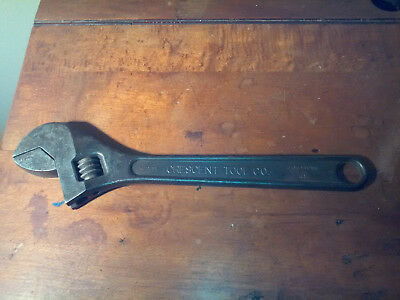 "VTG CRESCENT TOOL CO. 15"" Adjustable Wrench - A115 ""A"" Style - Jamestown NY USA"