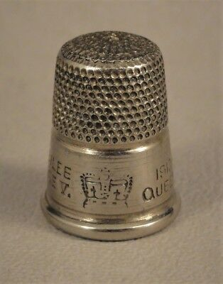 King George V & Queen Mary Silver Jubilee Commemorative Thimble 1935