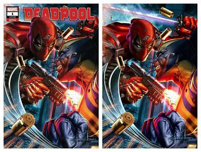 Deadpool #1 Greg Horn Trade/Virgin Variant Set Limited To 1000