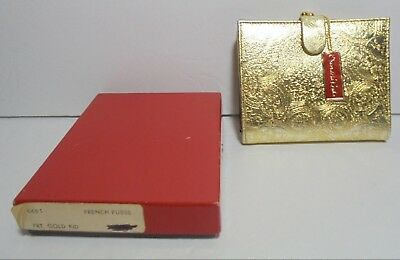NOS Vintage BOND STREET LTD Oscar de la Renta Womens French Purse Wallet & Box