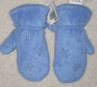 Vintage Gymboree Winter Magic Periwinkle Blue Mittens Small 3 NWT!