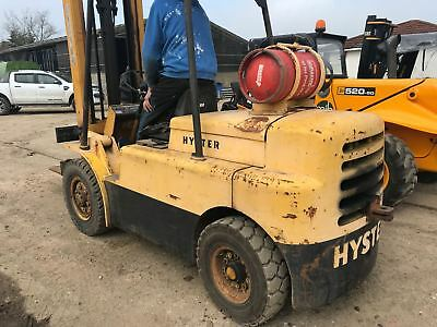 fork lift hyster 5 tton lift lpg all in good working order