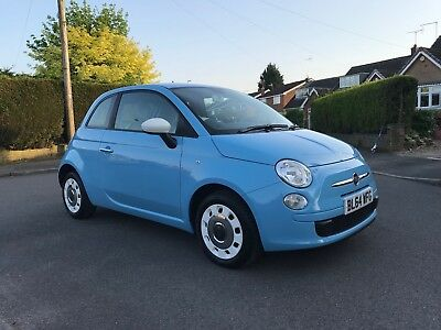 Fiat 500 Colour Therapy 2015 Low Miles 1.2 Service History Mot £30 Tax