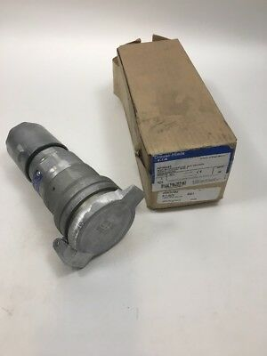 *NEW IN BOX* CROUSE HINDS APR6455 60-Amp PIN&SLEEVE CONNECTOR 60A 600V 4W 4P