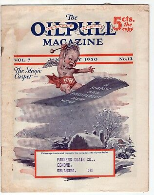 January 1930 Advance Rumley Oil Pull Tractors Company Magazine