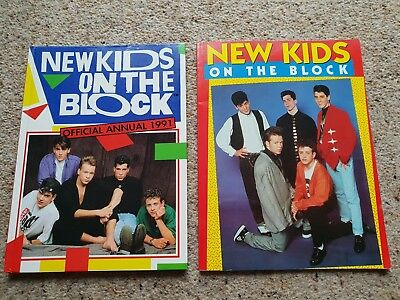 New kids on the block Annual and book