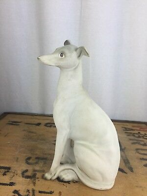 Charisma By H.A. Wain & sons Staffordshire Whippet Greyhound Dog Matt Ornament