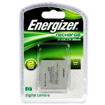 Energizer Canon fit  NB-4L Rechargable Battery - Brand New
